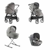 Inglesina Stroller Aptica System Quattro including Infant Car Seat CAB -  * The distinctive glamorous style of this pushchair will delight trend-conscious and modern parents immediately. The Aptica is not only a sporty companion, it also scores with convenient handling and plenty of comfort for your tiny human.