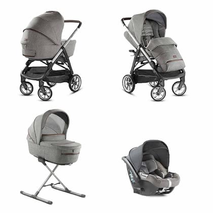 Inglesina Aptica System Quattro -  * The distinctive glamorous style of this pushchair will delight trend-conscious and modern parents immediately. The Aptica is not only a sporty companion, it also scores with convenient handling and plenty of comfort for your tiny human.