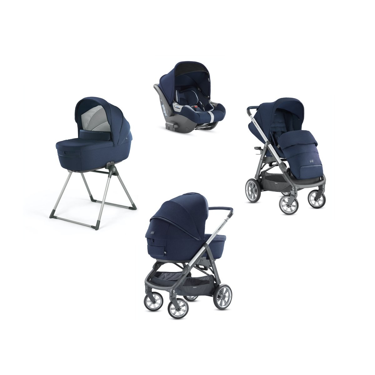 Inglesina Stroller Aptica System Quattro including Infant ...