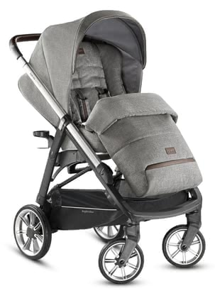 Inglesina Pushchair Aptica Mineral Grey 2019 - large image