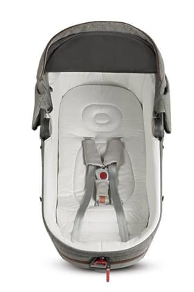 Inglesina Car Kit for Carrycot Aptica -  * For ensuring that your child can travel safely in the car, the Inglesina Auto Kit is essential. With this optional accessory, you can transport your little one safely in the carrycot Aptica on the back seat of your car.