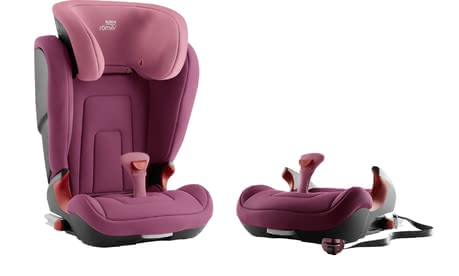 Britax Römer Child Car Seat Kidfix 2 R -  * ✓ Installation with and without ISOFIX ✓ 2in1 child car seat ✓ optional use as a booster seat ✓ SecureGuard ✓ V-shaped backrest ✓ Belt clip ✓ Made in Germany