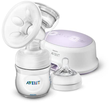 Avent Philips Electric Breast Pump Ultra Comfort -  * The very quiet Avent Philips Electric Breast Pump Ultra Comfort ensures a discrete and effective way of expressing breast milk at any time and at any place.