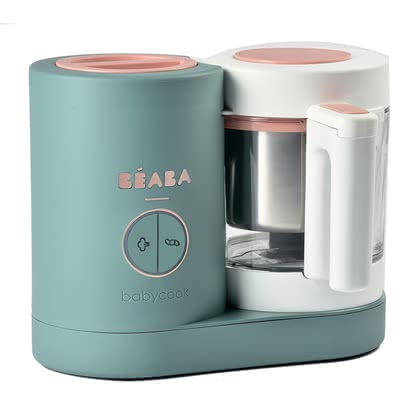 Béaba 4 in 1 Babycook NEO -  * The elegant Babycook NEO is the ideal companion for modern parents. Glass and stainless steel replace plastic and also make the new NEO stand out as an absolute eye-catcher.