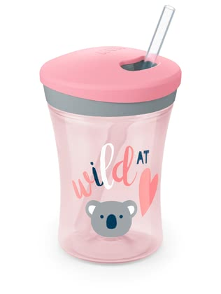 NUK Action Cup -  * When movement and action are standing in the centre of attention, then the NUK Action Cup serves as the ideal companion for your little adventurer from the age of 12 months and up.