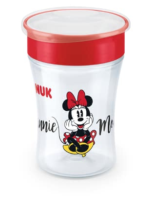 NUK Evolution Magic Cup -  * The NUK Magic Cup lets the little ones drink like the grown-ups. The 360° drinking rim encourages and helps drinking from all sides – no handles at all and almost like a normal cup.