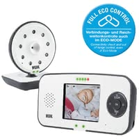 NUK Eco Control Video Display 550VD -  * NUK's digital baby monitor Eco Control Video Display 550VD provides new parents with the reassurance to know that their baby sleeps peacefully, even when they are not in the same room.