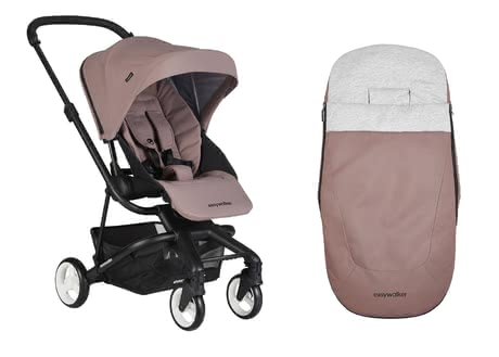Easywalker Buggy Charley including Footmuff -  * With the Easywalker Set that contains the buggy Charley and the matching footmuff, you are well equipped at all times.
