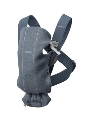 BabyBjörn Baby Carrier Mini – 3D Jersey -  * The BabyBjörn Baby Carrier Mini – 3D Jersey is the perfect first baby carrier particularly suitable for new-born babies.