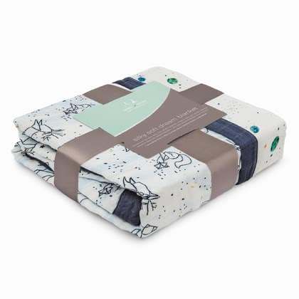 aden+anais Silky Soft Dream Blanket -  * Playing, sleeping and snuggling with the Silky Soft Dream Blanket is simply divine. Your little one will immediately fall in love with this soft and cosy blanket.