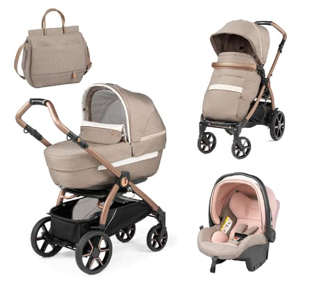 Peg-Perego Modular Set Book 51 - Special Edition - Mon Amour - * Mon Amour – the extra luxurious touch for little princesses. The special edition by Peg-Perego is a trendy eye-catcher and attracts everyone's attention with its elegant details and its adorable rose gold chassis.
