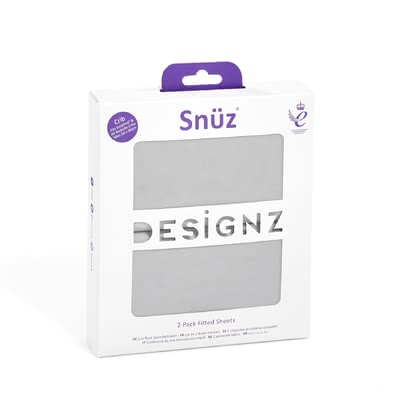 Snüz Fitted Sheets, Pack of 2 -  * The printed fitted sheets by Snüz are ideal for adding style as well as some individual touch to your baby cot or cradle.