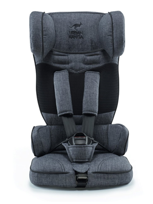 URBAN KANGA Extra-light Foldable Child Car Seat Denimgrau 2020 - large image