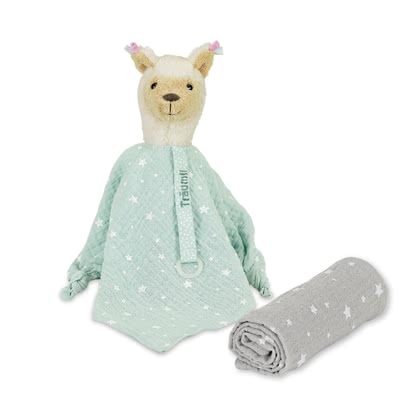 Sterntaler Cuddly Cloth Set -  * The Sterntaler Cuddly Cloth set comes with an adorable stuffed toy and a security blanket which is made of 100% cotton.