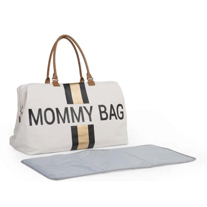 "Childhome Changing Bag Canvas ""Mommy Bag"" -  * Show the world how trendy a changing bag can be! The new canvas edition makes this versatile changing bag even trendier and adds an expressive, unmistakable touch."