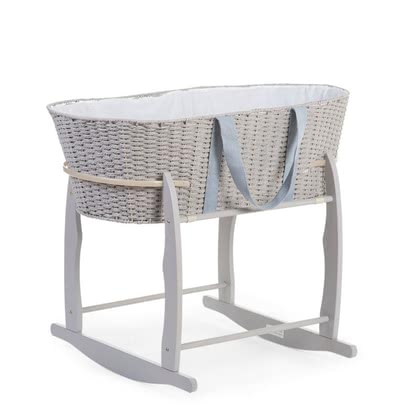 Childhome Rocking Moses Basket -  * Pamper you child with this adorable Moses Basket in which they will sleep heavenly.