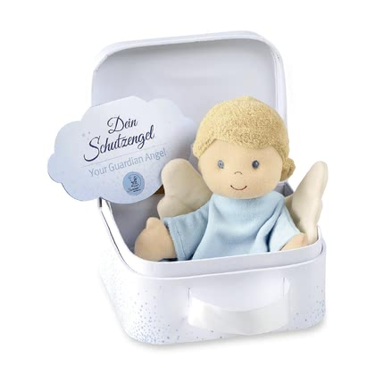 Sterntaler Security Blanket Guardian Angel -  * The Sterntaler guardian angel accompanies your little one right from the very first day. The soft cuddly blanket is perfect for cuddling, consoling or falling asleep.