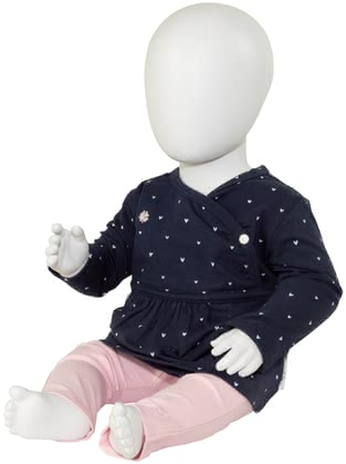 noppies 2-piece Baby Set, 1 Pair of Trousers and 1 Shirt, Girl -  * This perfectly matched 2-piece clothing set is ideal to dress up your little princess. No matter if you prefer dots or hearts, both sets will delight your little girl immediately.