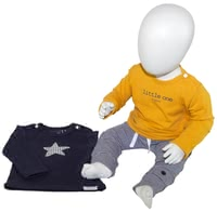 noppies 3-piece Baby Set, 1 Pair of Trousers and 2 Shirts -  * The right clothes for every occasion. You can easily combine this adorable set just as the fancy takes you.