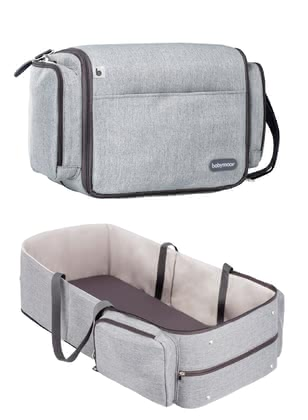 "Babymoov Travel Cot & Changing Bag ""Travelnest"" -  * If you love to travel with your child or would like to spend the night away from home, Babymoov now offers a super convenient 2-in-1 solution."