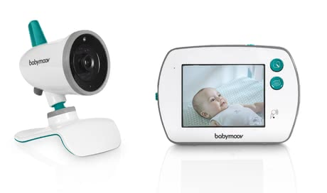 Babymoov YOO-Feel Video Baby Monitor with Touch Screen -  * With the Babymoov YOO-Feel Video Baby Monitor, you can keep an eye on your little one right from the very first day.