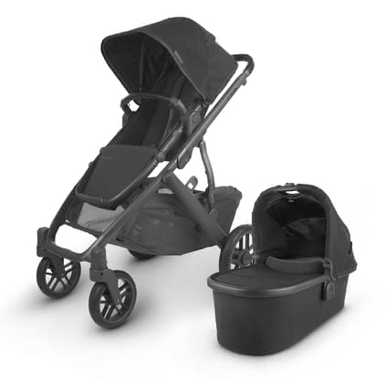 UPPAbaby Kinderwagen VISTA V2 - No matter what the future brings - with the VITA you are well equipped in regard to family planning.