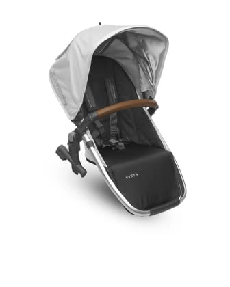 Uppababy VISTA Second Seat -  * Take advantage of the opportunity to use all the smart configuration options of your Uppababy VISTA! When using the stylish stroller for twins and siblings, you will need the second seat for easy attachment to the chassis.