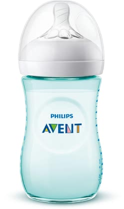 Avent Natural 2.0 Baby Bottle in Pastels -  * The Avent Natural 2.0 baby bottle in subtle pastel colours adds a fresh and exciting touch to your baby bottle collection. Equipped with the new, soft teat with a flexible spiral design, you can now feed your baby in a much more natural way.