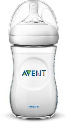 Avent Natural 2.0 Baby Bottle -  * Equipped with a new teat, the Avent Natural 2.0 baby bottle allows you to bottle-feed your baby in a much more natural way.