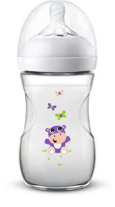 Philips AVENT Natural 2.0 Baby Bottle with Motif -  * Ideal for collecting and giving away! Printed with colourful motifs, the Philips AVENT Natural 2.0 baby bottle is a cheerful eye-catcher that will delight everybody.