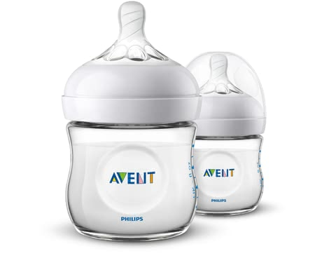Philips AVENT Natural 2.0 Baby Bottles in a Double Pack -  * Avent Natural 2.0 baby bottles – now even more natural. The trendy bottle features an ergonomic shape which makes it super easy for you to hold it.