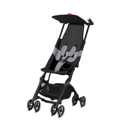 gb by Cybex Buggy Pockit Air All Terrain -  * The distinctive gb by Cybex buggy Pockit Air All Terrain is the most compact buggy in the world and will delight everybody with an additional breathable mesh fabric in the seating area.