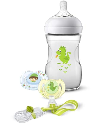 Philips AVENT Natural 2.0 Gift Set Dragon -  * The adorable Philips Avent Natural 2.0 gift set is the perfect present for parents-to-be and their tiny humans.