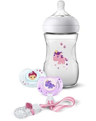 Philips AVENT Natural 2.0 Gift Set Unicorn -  * The adorable Philips Avent Natural 2.0 gift set is the perfect present for parents-to-be and their tiny humans.