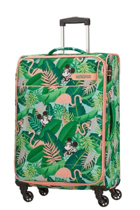 American Tourister by Samsonite Funshine Disney Trolley -  * Modern, light in weight and super spacious – the palm-themed spinner from the new Funshine Disney collection will make you reach your holiday destination with plenty of fun.