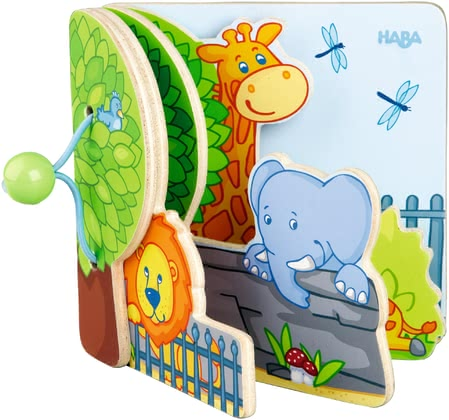 Haba Sturdy Baby Book -  * Children's small hands can easily handle and turn the sturdy wooden pages of this adorable picture book