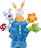 Haba Glove Puppet Animal World -  * Haba's glove puppet is a real all-round toy with which you can promote your little one's sense of touch, sense of hearing, and sense of sight.