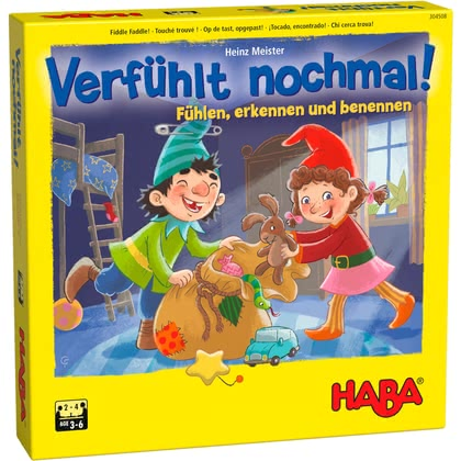 Haba Educational Game Fiddle Faddle -  * Revised remake of the successful classic educational game - Made in Germany!