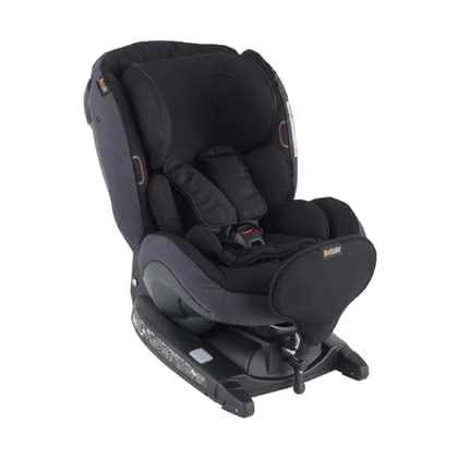 BeSafe Child Car Seat iZi Kid X3 i-Size Midnight Black Mélange 2020 - large image