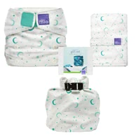 Bambino Mio miosolo All-in-One Reusable Nappy Gift Set -  * Welcome to the family of cloth nappy! Stylish and wonderfully easy to use, the award-winning BambinoMio All-in-One cloth nappies will convince all new parents immediately.