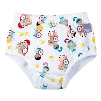 Bambino Mio Potty Training Pants, 3 years+ -  * Is your little one just one step away from using the potty and would like to do without the nappy? Then the potty-training pants by BambinoMio are just the right choice as they are the easy way to transition from nappy to potty.
