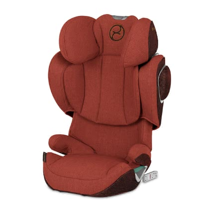 Cybex Platinum Child Seat Solution Z-Fix Plus Autumn Gold - burnt red 2020 - large image