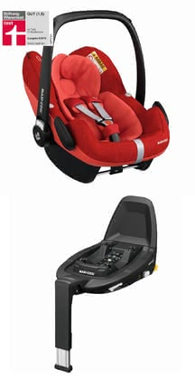 Maxi-Cosi Infant Car Seat Pebble Pro i-Size including 3wayFix -  * Approved according to the latest safety standards for child car seats, the super trendy Maxi-Cosi infant car seat Pebble Pro i-Size provides your baby with extra comfort.