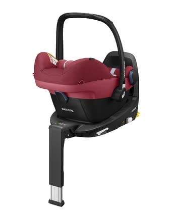 Maxi-Cosi Infant Car Seat Pebble Pro i-Size including FamilyFix3 Essential Red 2 2020 - large image
