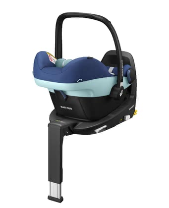 Maxi-Cosi Infant Car Seat Pebble Pro i-Size including FamilyFix3 Essential Blue 2 2020 - large image