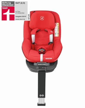 Maxi-Cosi Child Car Seat Pearl Pro i-Size including 3wayFix Nomad Red 2020 - large image