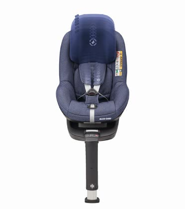 Maxi-Cosi Child Car Seat Pearl Smart i-Size including 3wayFix Sparkling Blue 2019 - large image