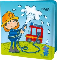 Haba Magic Bath Book Fire Brigade -  * This adorable magic bath book by Haba provides your little one with magical bathing fun. No matter if it is used in the bathtub or in the paddling pool, your child will be totally amazed by their new bath companion.