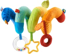 Haba Activity Spiral 'All Colors' -  * This colourful activity spiral by Haba is perfectly suitable for being attached to infant car seats or cots.