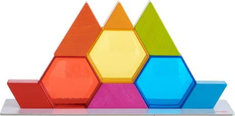 Haba Stacking Game Colour Crystals -  * Creativity is needed in this exciting dexterity game. With the stacking stones, your child can easily create the most amazing shapes.